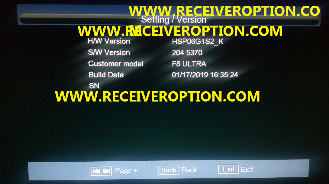 ECHOLINK 880D+ HD RECEIVER POWERVU KEY NEW SOFTWARE BY