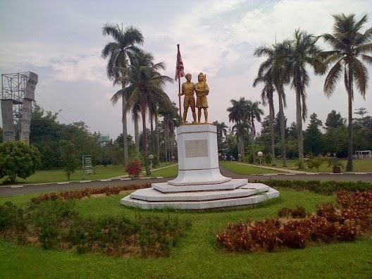 taman bunga di Indoesia