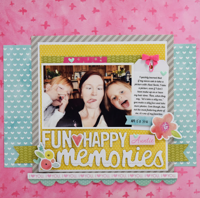Scrapbooking process video created by @jbckadams for @BellaBlvd #scrapbooking #processvideo #BellaBlvd #BeckiAdams