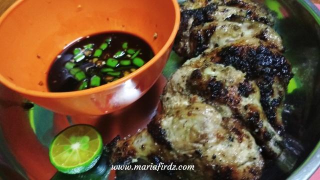 Resepi Ayam Panggang Sarawak Style, Memang Merecik