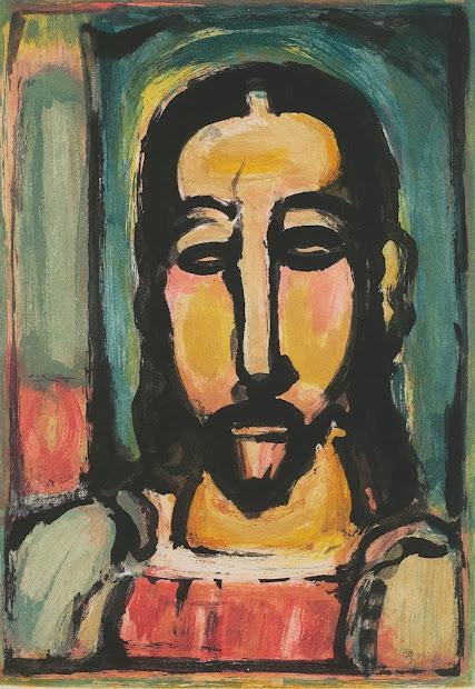 Georges Rouault Jesus Paintings