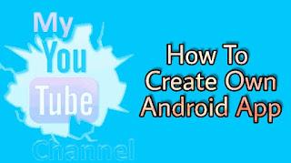 नमस्कार दोस्तो, इस Post में मैं आपको बताऊंगा कि कैसे हम हम अपनी Website या फिर Youtube Channel के लिए एक Android App बना सकते हैं बिना किसी Coding के