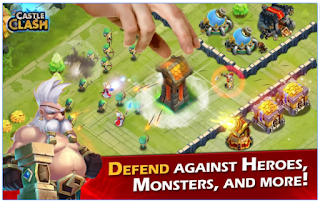 Download Castle Clash Apk + Mod/Hack v1.2.9 Apk
