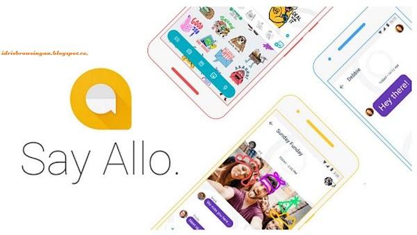 Cara Mendaftar Google Allo , Aplikasi Chatting Terbaru Google