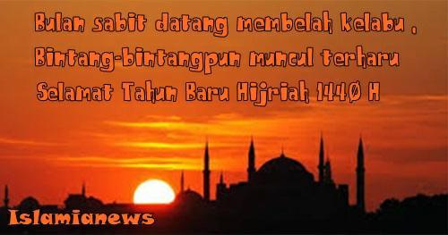 Ucapan Kata2 Selamat Tahun Baru Hijriah 1 Muharam 1440 Sedih