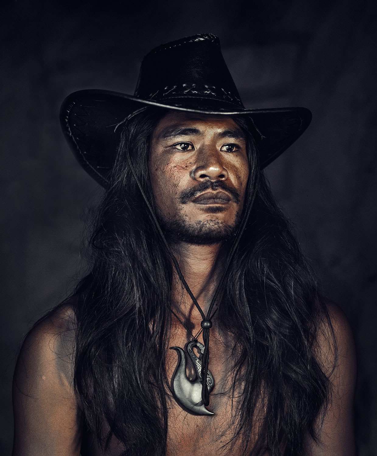 Maori Natives: White Wolf : Stunning Portraits Of The Maori People By