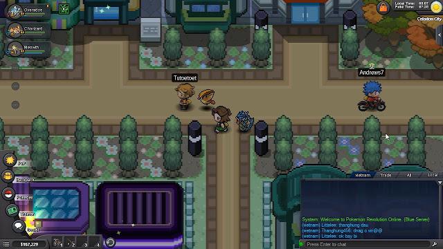 Hướng dẫn Pokemon Revolution Online Part 4 - Lavender Town
