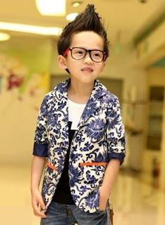 Model baju batik anak laki-laki blazer