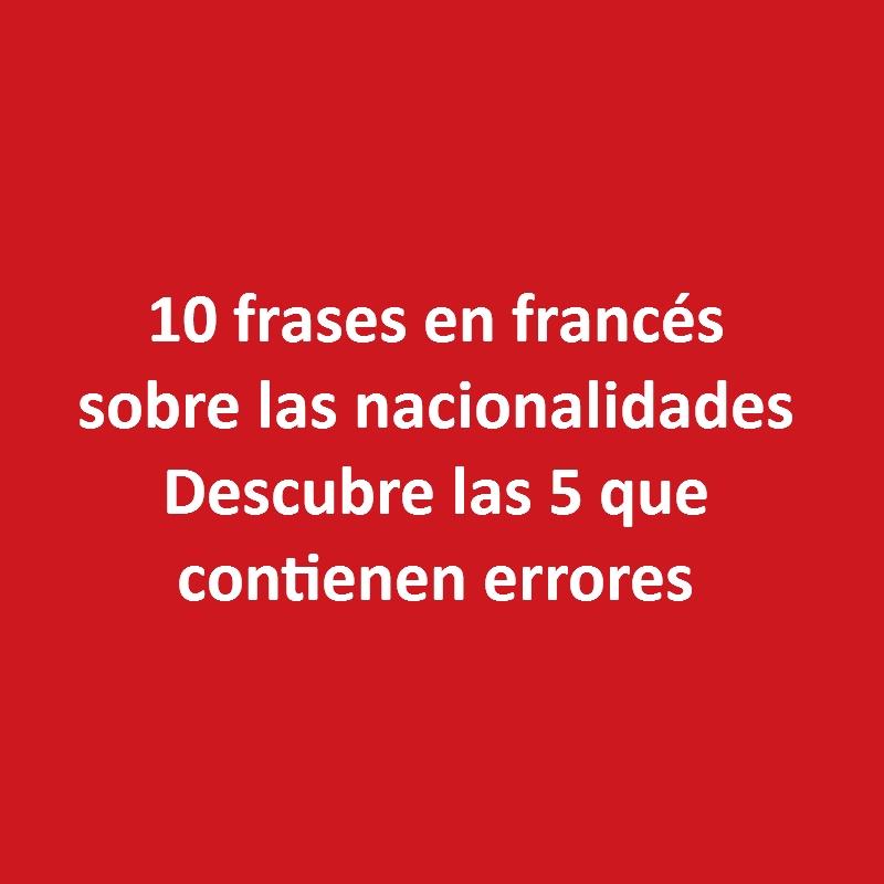 Clases De Francés Fácil Con Nelson 10 Frases En Francés