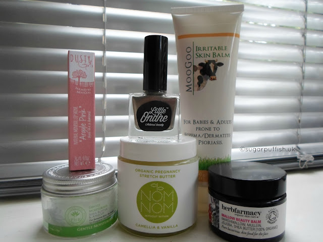 Sugarpuffish's Natural and Organic Skincare August Favourites Blogger Reviews