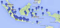 Lokasi Universitas Terbuka di Seluruh Indonesia