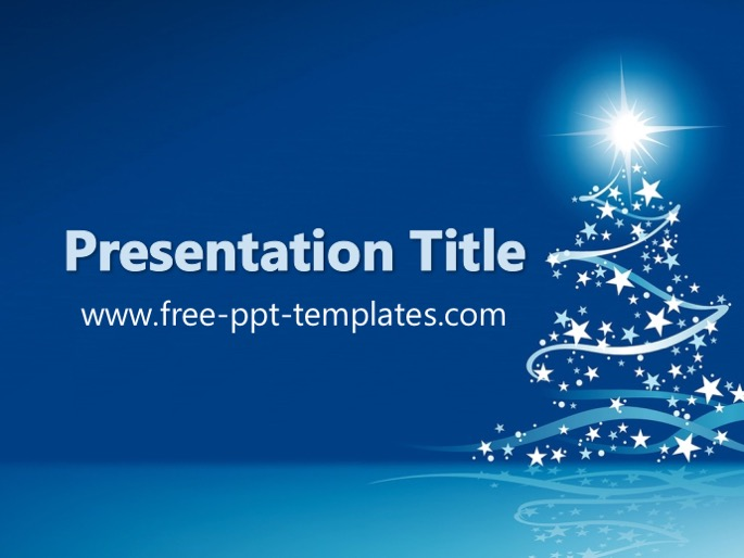 christmas ppt template, Modern powerpoint
