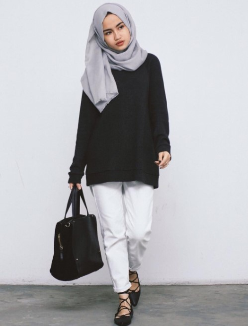 fashion hijab remaja simpel