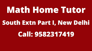 Best Maths Tutors for Home Tuition in South Extension Part-1