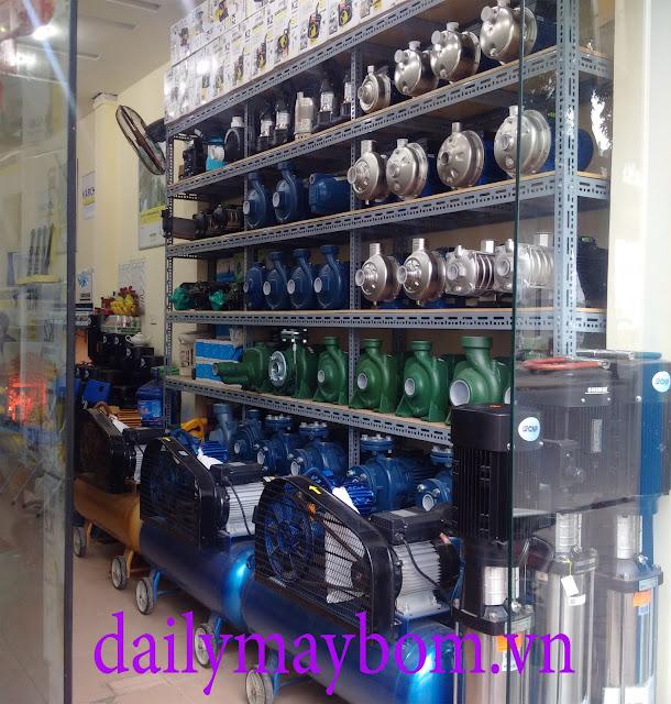 Máy bơm nước giá rẻ - Đại lý máy bơm nước uy tín tại TPHCM