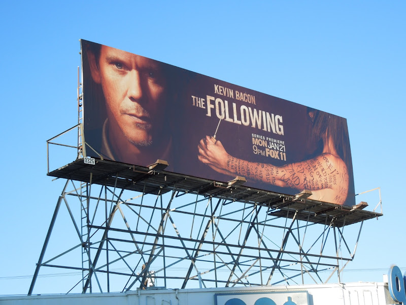 Following TV show billboard
