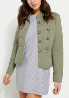 Women's Military Jacket (Minimalist Wardrobe List: A 36 Piece Wardrobe)