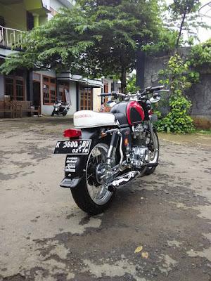 Modifikasi CB Bagong Basic Megapro Twin Keren