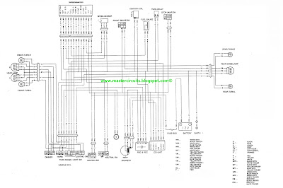 Raider R150 wiring diagram