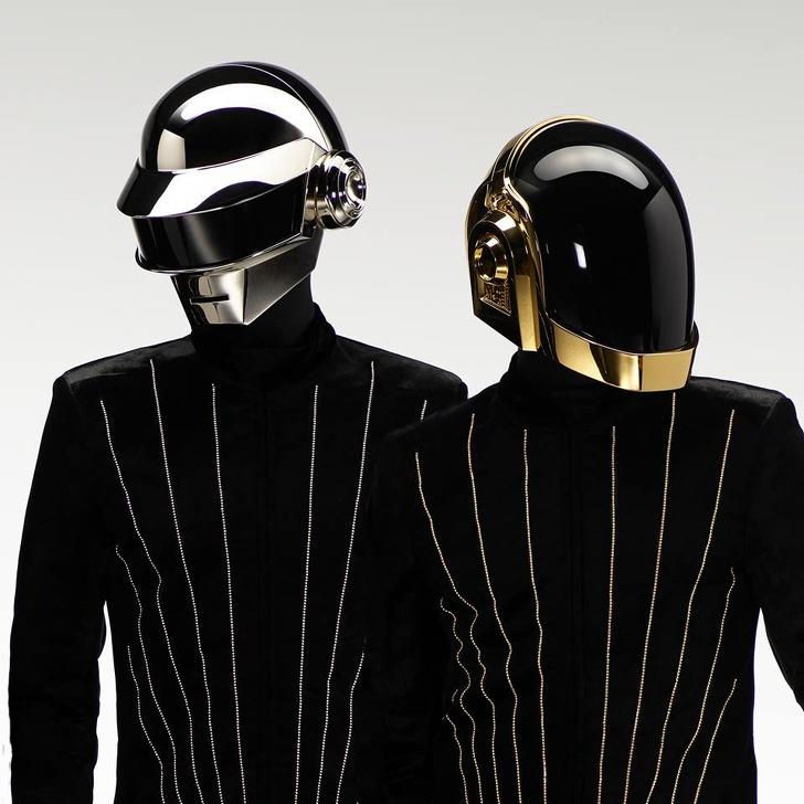 wajah asli Daft Punk