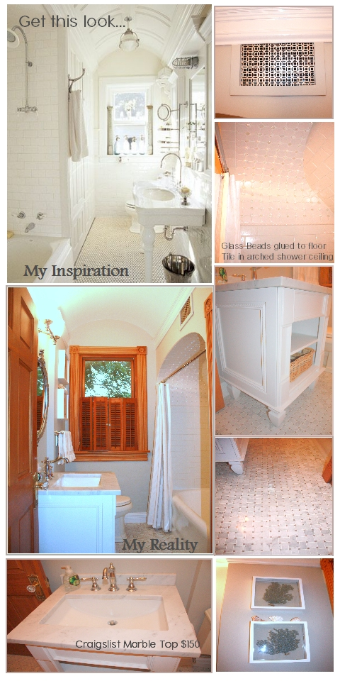 Brapples Bra Straps: Small Bathroom Remodel for less than ...