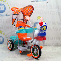 family jelly fish baby tricycle