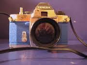 Macchina fotografica giocattolo vintage di Venezia