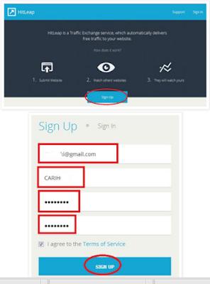 Cara Paling Cepat untuk Meningkatkan Traffic Website / Blog Visitor, dan Rangking melalui Traffic Exchange Hitleap
