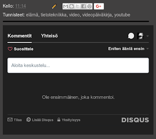 Disqus blogista