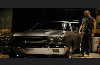 Dominic Toretto with 1970 Chevrolet Chevelle SS
