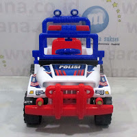 Mobil Mainan Anak SHP XJP633 Jeep Police