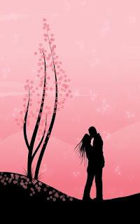 خلفية رومانسية للهاتف