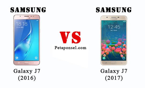 Perbandingan Samsung J7 (2017) dan J7 (2016)