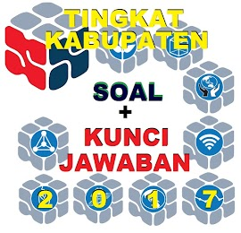 Soal dan Kunci Jawaban OSN SMA Tingkat Kabupaten 2017 (9 Mapel)