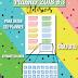 Planner 2018 #3: adesivos de número para datar o planner (gratuito para download)