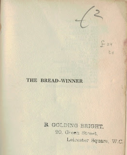 The Bread-Winner (1930)  W. Somerset Maugham - half title