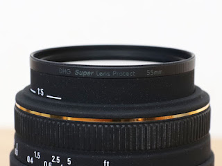 MARUMI DHG Super Lens Protect + SIGMA MACRO 50mm F2.8 EX DG