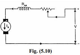 Speed Control of D.C. Series Shunt Motors ,Armature-resistance control method
