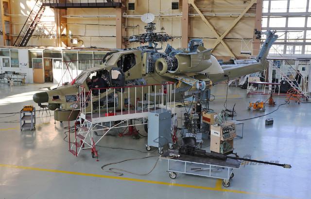 Производство Ми-28Н