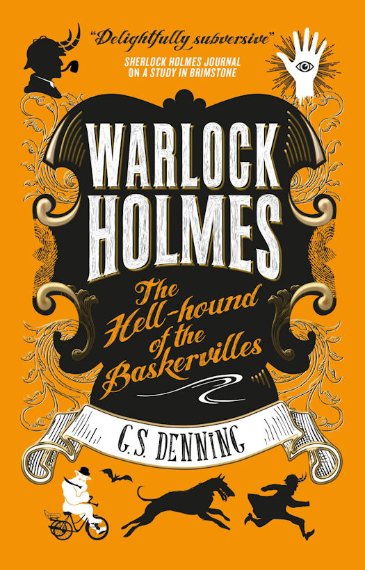 Interview with G.S. Denning, author of the Warlock Holmes Novels