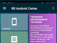 Cara Daftar RR Android Center (Rajawali Reload) Dan Dapatkan ID Agen Pulsa RR
