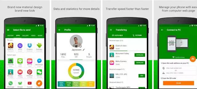 Xender - Aplikasi Sharing File Terbaik