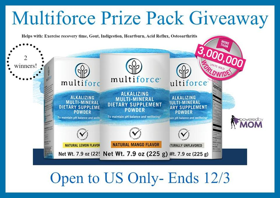 Multiforce Prize Pack Giveaway