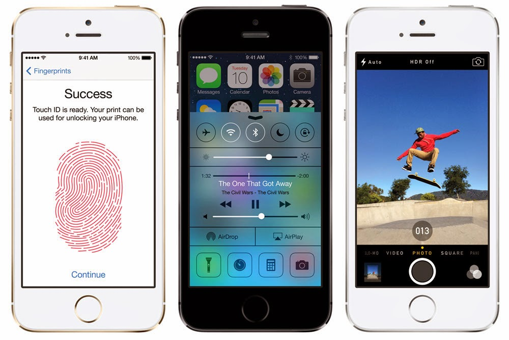 Iphone 5S Review Touch ID