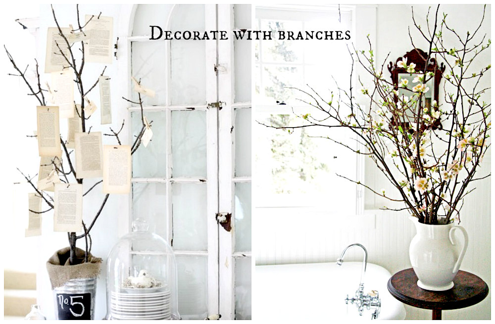 decorating branches