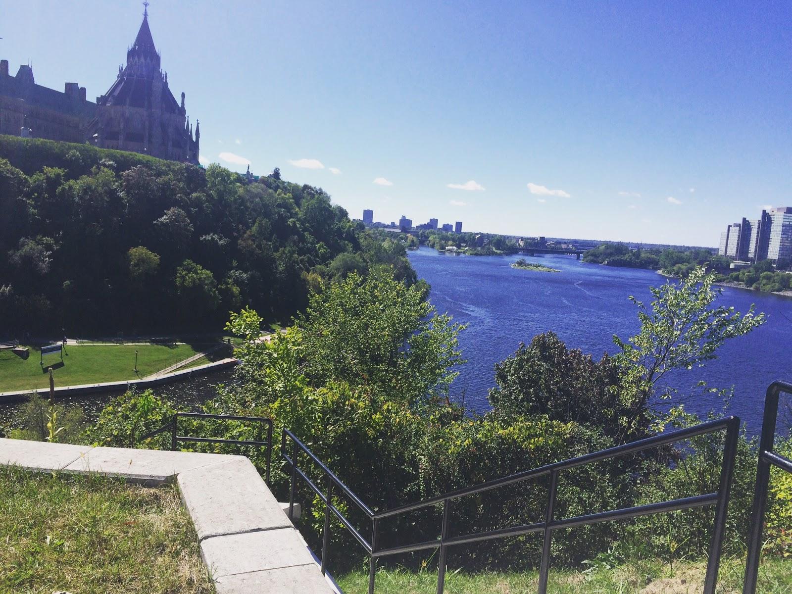 View of Ottawa, Canada