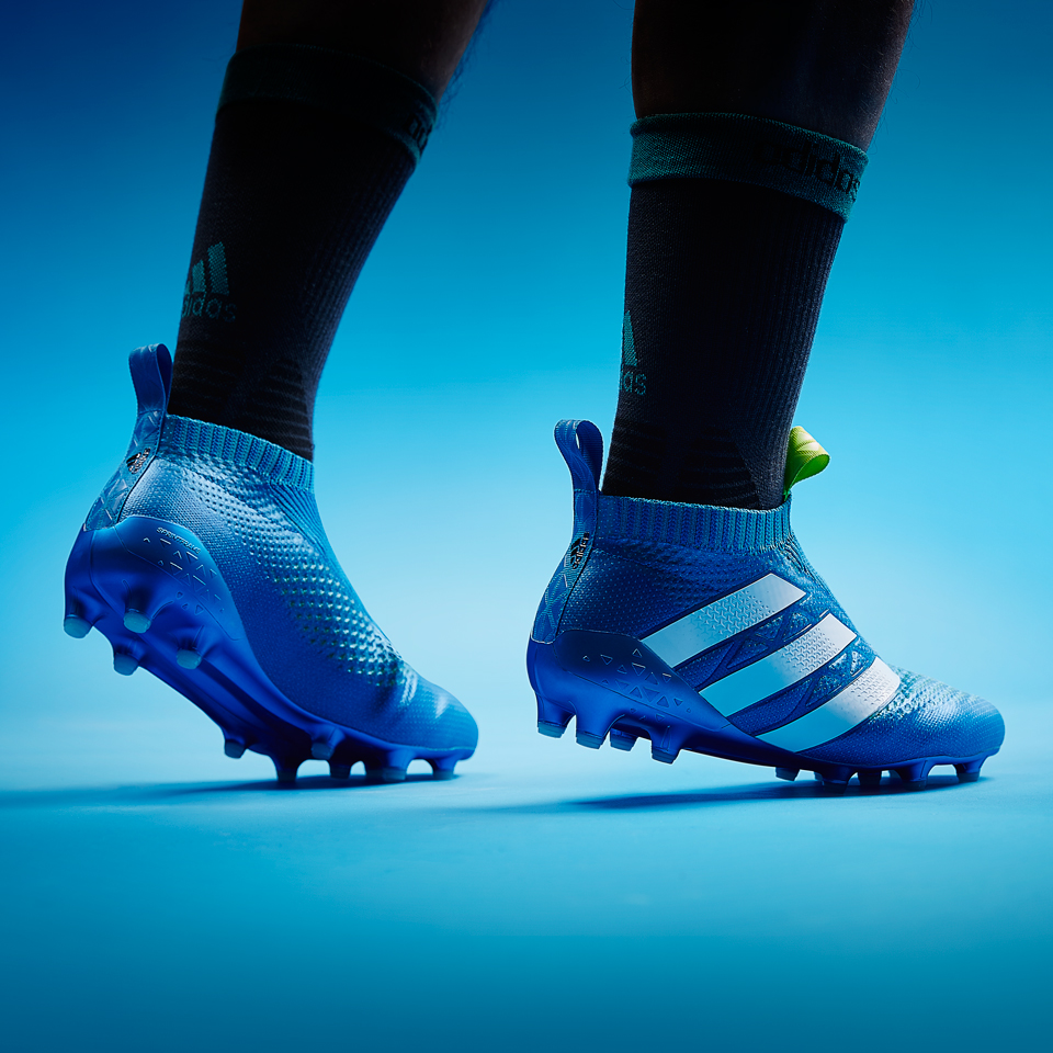 Discount Shock Blue Adidas Ace 16+ PureControl Boots Released 6dc7c2bb9f20f