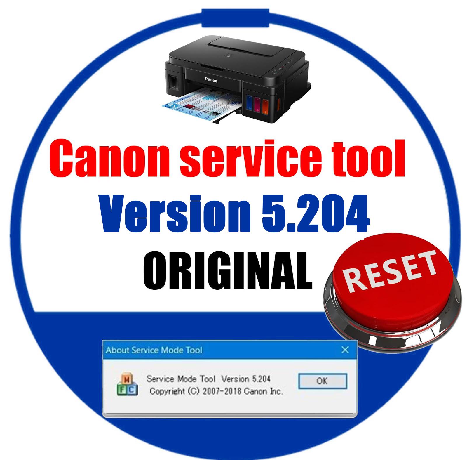 canon service tool v5204 | PRINTER RESET SOLUTION