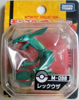Rayquaza figure Takara Tomy Monster Collection M series