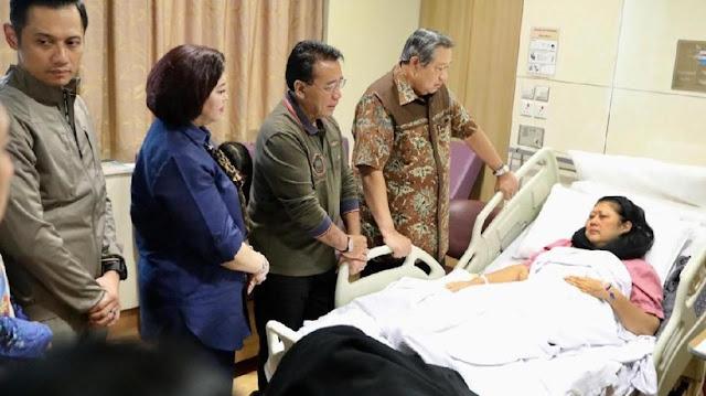 SBY Angkat Bicara soal Kondisi Sang Istri